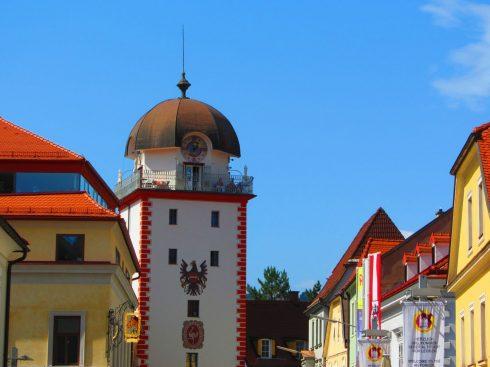 Østerrike Schwammerlturm i Leoben