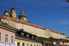 Østerrike Kloster Melk ligger flott til ved Donau, Unescos liste over Verdensarven