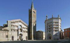 Piazza del Duomo, Parma, Emilia Romagna, Nord-Italia, Italia