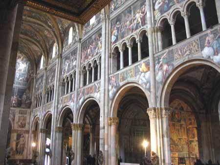 Duomo, kor, Parma, Emilia Romagna, Nord-Italia, Italia