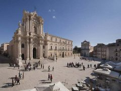 Siracusa, Ortygia, antikken, greske templer, barokken, Unescos liste over Verdensarven, Sicilia, Italia