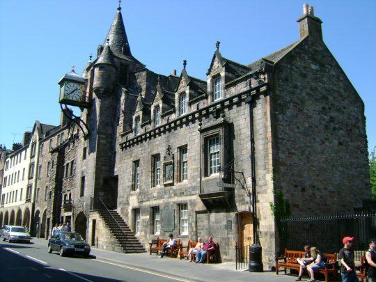Canongate Toolboth, Edinburgh, Skottland, Storbritannia
