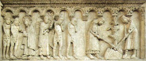 Wiligelmo, Duomo Modena, Modena, Emilia Romagna, Nord-Italia, Italia