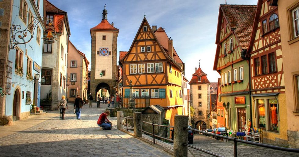 Rothenburg ob der Tauber, ReisDit.no