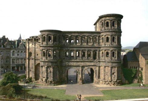 Porta Nigra, Trier, Vest-Tyskland, Tyskland