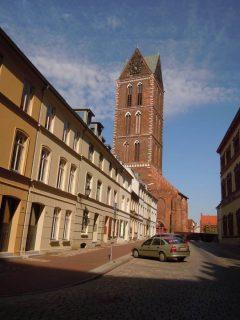 Marienkirche, Wismar, Østersjøen, middelalder, Backsteinsgotik, Ostsee, Unesco Verdensarv, Gamlebyen, Altstadt, Hansestadt Wismar, Mecklenburg Vorpommern, Nord-Tyskland