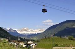 taubane, Gamlebyen, Altstadt, Bolzano, Bozen, Alto Adige, Tyrol, Süd-Tirol, Nord-Italia, Italia