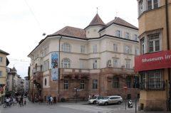Bolzanos arkeologiske museum, Gamlebyen, Altstadt, Bolzano, Bozen, Alto Adige, Tyrol, Süd-Tirol, Nord-Italia, Italia