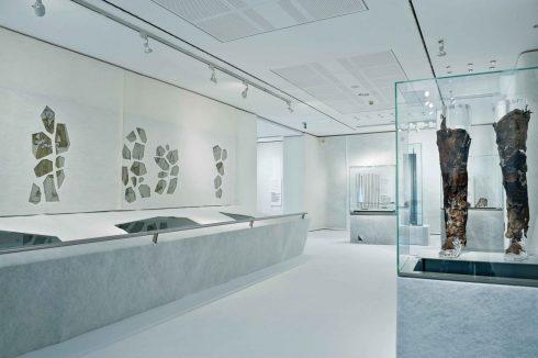 Arkeologisk museum, Ötzi, ismannen, Bolzano, Bozen, Alto Adige, Tyrol, Süd-Tirol, Nord-Italia, Italia