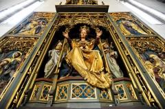 Altertavle, Duomo, gamlebyen, Altstadt, Bolzano, Bozen, Alto Adige, Tyrol, Süd-Tirol, Nord-Italia, Italia