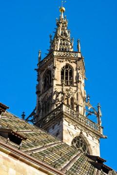 Duomo, Gamlebyen, Altstadt, Bolzano, Bozen, Alto Adige, Tyrol, Süd-Tirol, Nord-Italia, Italia