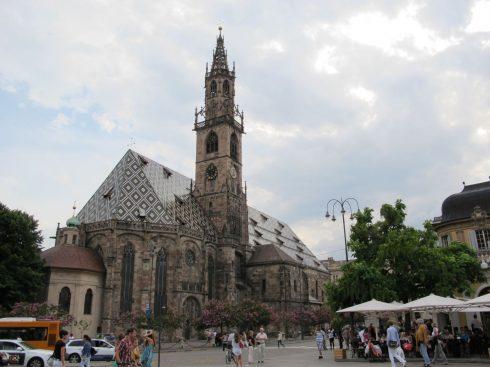 Duomo di Bolzano, Altstadt, Tyrol, Nord-Italia, Italia