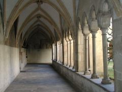 Fransiskanerkloster, rundgang, gamlebyen, Altstadt, Bolzano, Bozen, Alto Adige, Tyrol, Süd-Tirol, Nord-Italia, Italia