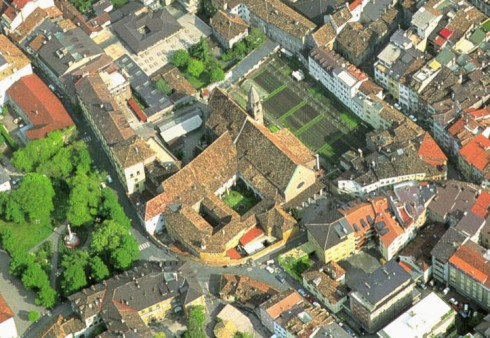 Fransiskankloster, Altstadt, Bolzano, Bozen, Alto Adige, Nord-Italia, Italia
