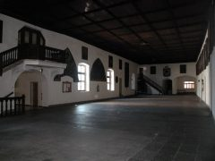 Fransiskanerklosteret, gamlebyen, Altstadt, Bolzano, Bozen, Alto Adige, Tyrol, Süd-Tirol, Nord-Italia, Italia