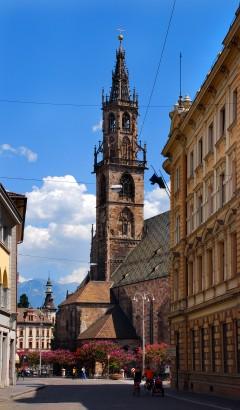 Duomo Santa Maria Assunta, Altstadt, Bolzano, Bozen, Alto Adige, Tyrol, Süd-Tirol, Nord-Italia, Italia