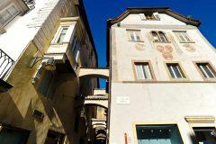 Kornplatz, Piazza del Grano, gamlebyen, Altstadt, Bolzano, Bozen, Alto Adige, Tyrol, Süd-Tirol, Nord-Italia, Italia