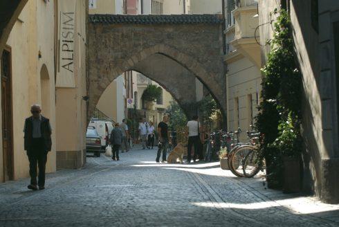 Streiter Gasse, Altstadt, Bolzano, Bozen, Alto Adige, Tyrol, Süd-Tirol, Nord-Italia, Italia