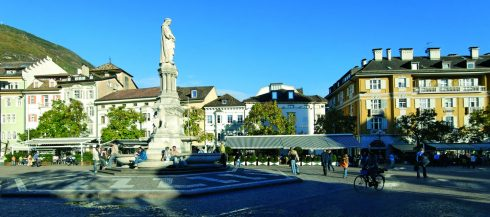 Walthersplatz, Piazza Walther, Bolzano, Alto Adige, Nord-Italia, Italia