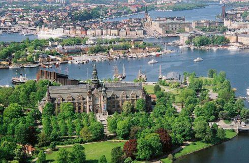 Stockholm, Djurgården, Nordisk Museet, Vasamuseet