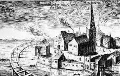 Gråbrödraklostret, Riddarholmskyrkan, Stockholm, Gamla Stan, gamlebyen, Unesco Verdensarv, Sverige