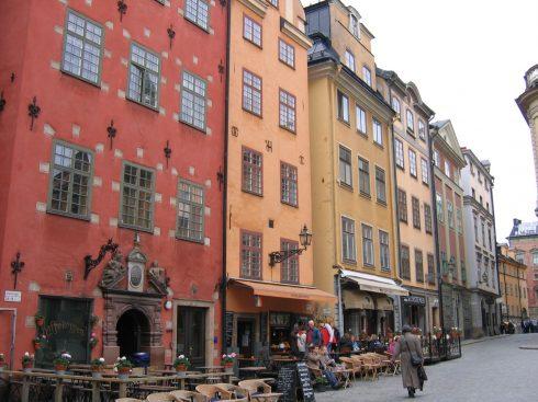 Stortorget, renessanse, Stockholm, Gamla Stan, gamlebyen, Unesco Verdensarv, Sverige