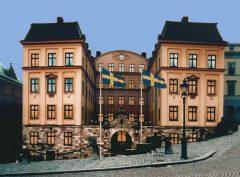 Kungliga Myntkabinettet, Slottsbacken, Stockholm, Gamla Stan, gamlebyen, Unesco Verdensarv, Sverige