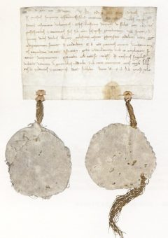 Birger Jarls Skyddsbrev fra år 1252, Stockholm, Gamla Stan, gamlebyen, Unesco Verdensarv, Sverige