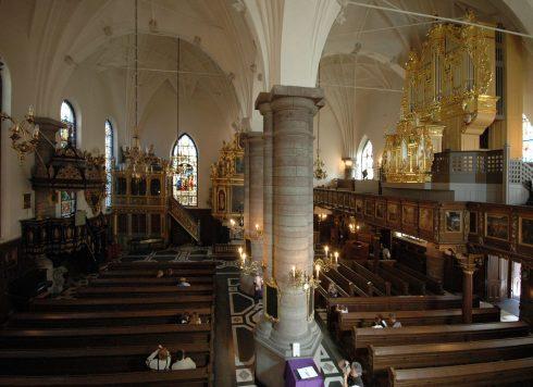 Tyska Kyrkan, Stockholm, Gamla Stan, gamlebyen, Unesco Verdensarv, Sverige