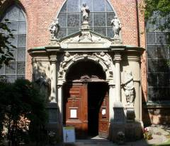 Tyska Kyrkan, portal, Stockholm, Gamla Stan, gamlebyen, Unesco Verdensarv, Sverige