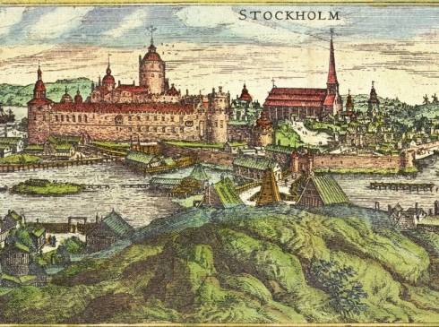 Helgeandsholmen, Stockholm, Gamla Stan, gamlebyen, Unesco Verdensarv, Sverige