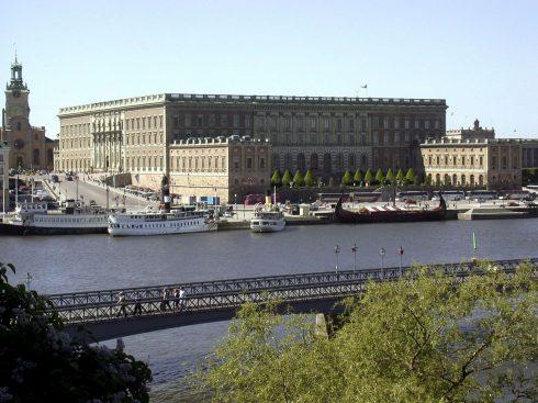Det kungliga Slottet, Stockholm, Gamla Stan, gamlebyen, Unesco Verdensarv, Sverige
