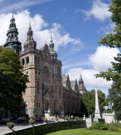 Nordiska Museet, Djurgården, Stockholm, Sverige