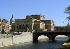 Operahuset, Norrbron, Stockholm, Gustav Adolfs Torg, Sverige