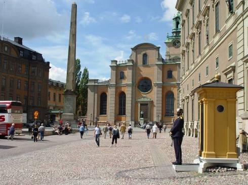Storkyrkan, Stockholm, Gamla Stan, gamlebyen, Unesco Verdensarv, Sverige