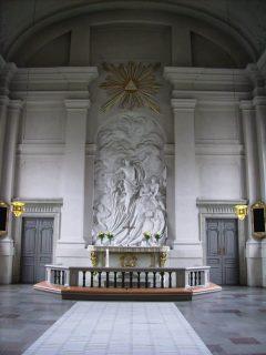 Adolf Fredriks Kyrka, .Altaret, City, Stockholm, Sverige