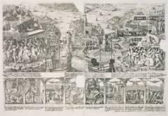 Blodbadsplanschen-anno 1524, Stockholm, Gamla Stan, gamlebyen, Unesco Verdensarv, Sverige