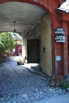 Skansen kafé Petrissan, Djurgården, Stockholm, Sverige