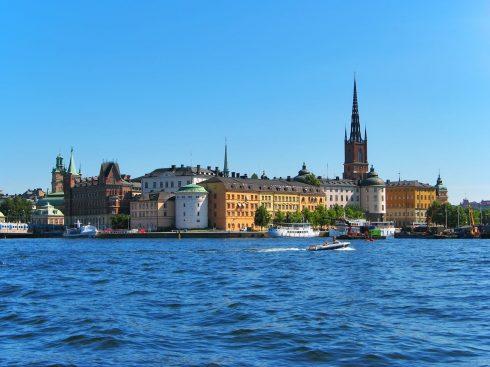 Riddarholmen, Stockholm, Gamla Stan, gamlebyen, Unesco Verdensarv, Sverige