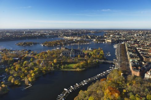 Djurgården, Östermalm, Strandvegen, Stockholm, Sverige