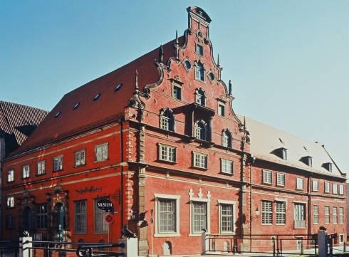 Museum Schabbellhaus, Wismar, Østersjøen, middelalder, Backsteinsgotik, Ostsee, Unesco Verdensarv, Gamlebyen, Altstadt, Hansestadt Wismar, Mecklenburg Vorpommern, Nord-Tyskland