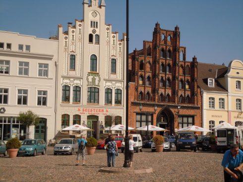 Alter Schwede, Wismar, Østersjøen, Ostsee, Gamlebyen, Altstadt, Hansestadt Wismar, Mecklenburg Vorpommern, Nord-Tyskland