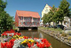 Wismar, Østersjøen, middelalder, Backsteinsgotik, Ostsee, Unesco Verdensarv, Gamlebyen, Altstadt, Hansestadt Wismar, Mecklenburg Vorpommern, Nord-Tyskland