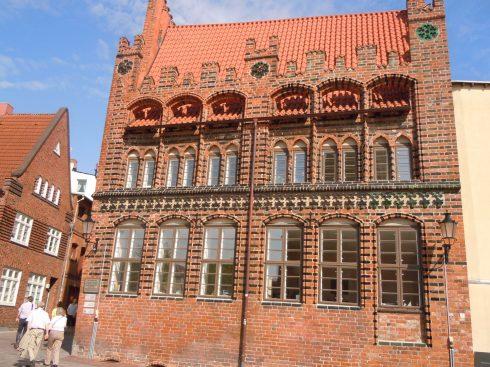 Archdiakonat,Wismar, Østersjøen, middelalder, Backsteinsgotik, Ostsee, Unesco Verdensarv, Gamlebyen, Altstadt, Hansestadt Wismar, Mecklenburg Vorpommern, Nord-Tyskland