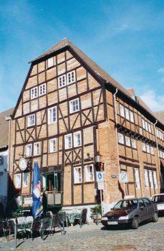 Brauhaus am Lohberg, Wismar, Østersjøen, middelalder, Backsteinsgotik, Ostsee, Unesco Verdensarv, Gamlebyen, Altstadt, Hansestadt Wismar, Mecklenburg Vorpommern, Nord-Tyskland