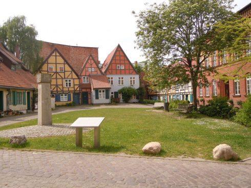 Johanniskloster, Stralsund, Unescos Verdensarvliste, Wismar, Lübeck, Hansaen, Hanseatforbundet, Mecklenburg Vorpommern, Nord-Tyskland