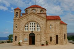 Paphos, klosterkirke, Kypros, Hellas