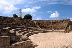 Paphos odeon, Kypros, Hellas