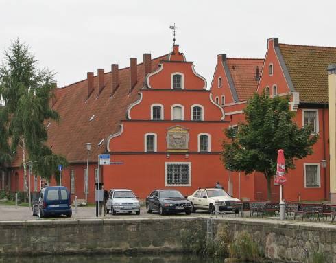 Heilgeistkloster, Stralsund, Unescos Verdensarvliste, Wismar, Lübeck, Hansaen, Hanseatforbundet, Mecklenburg Vorpommern, Nord-Tyskland