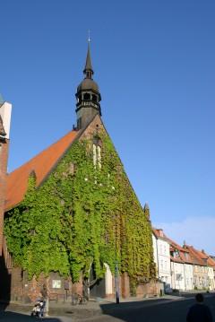 Heilgeistkloster, Stralsund, middelalder, Backsteinsgotik, Ostsee, Unesco Verdensarv, Gamlebyen, Altstadt, Hansestadt Wismar, Mecklenburg Vorpommern, Østersjøen, Nord-Tyskland